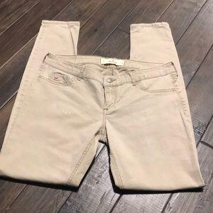 Hollister Jeans sz 7/28 khaki